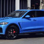 Представлений заряджений Jaguar F-Pace SVR